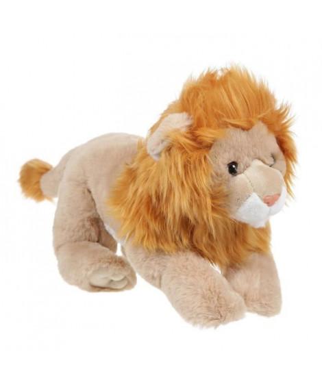 Peluche Lion avec fourrure - 33 cm