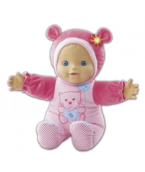 VTECH Poupée Little Love - Mon bébé coucou-caché - Poupon Enfant Rose