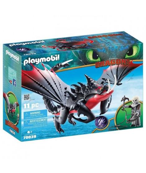 PLAYMOBIL 70039 - Dragons 3 - Agrippemort et Grimmel