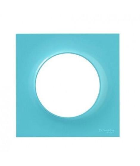 SCHNEIDER ELECTRIC Plaque de finition 1 poste Odace Styl bleu