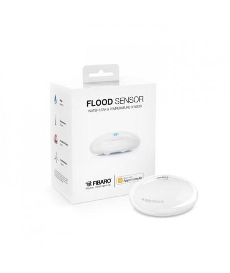 FIBARO Détecteur d'inondation bluetooth Flood Sensor compatible Apple HomeKit