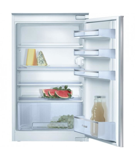BOSCH KIR18V20FF - Réfrigérateur 1 porte encastrable - 150L - A+ - L 56cm x H 88cm