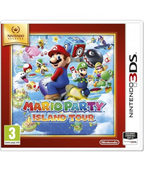 Mario Party Island Tour Jeu Select 3DS
