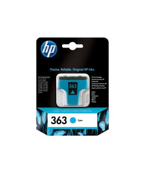 HP 363 cartouche d'encre cyan authentique pour HP Photosmart C5190/C6180/C6270/C7280 (C8771EE)