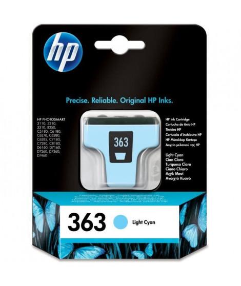 HP Cartouche d'encre 363 Original - Cyan clair