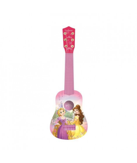 LEXIBOOK - DISNEY PRINCESSES -  Guitare Acoustique Enfant - Hauteur 53 cm