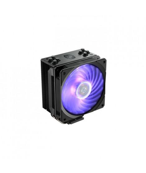Cooler Master - Hyper 212 RGB Black Edition - Ventilateur de Processeur ( Intel & AMD) 1x Ventilateur 120mm PWM - Eclairage R…