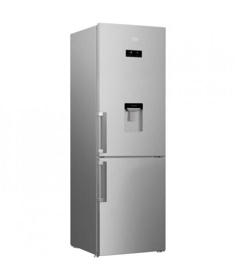 BEKO - RCNA366DSN - Réfrigérateur congélateur bas - 320 L (211+109) - NeoFrost - A++ - Gris acier