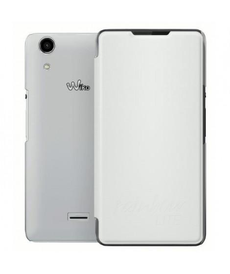 Wiko Etui folio Rainbow Lite - Blanc