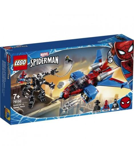 LEGO Super Heroes 76150 - Le Spider-jet contre le robot de Venom