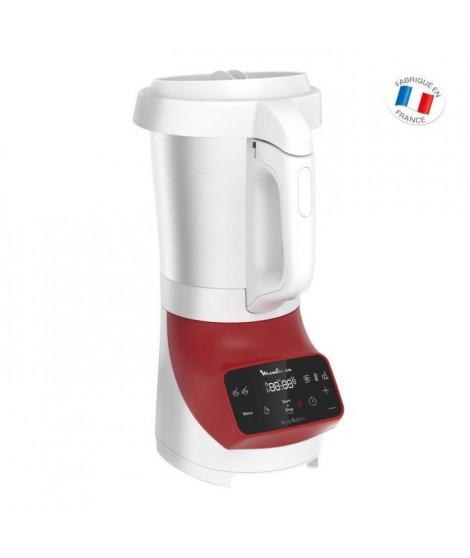 MOULINEX LM924500 Blender chauffant Soup&plus 2L Rouge