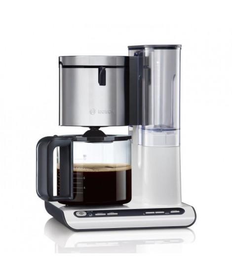 BOSCH TKA8631 Cafetiere filtre programmable Styline – Blanc