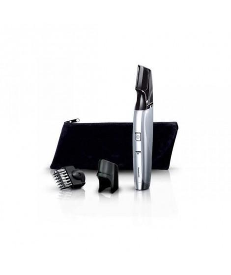 PANASONIC ER-GD60 Tondeuse a barbe rechargeable - Ergonomie originale  - 20 positions - Gris