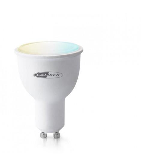 CALIBER HWL5201  Ampoule LED intelligente GU10 blanc froid a blanc chaud contrôlée par App.