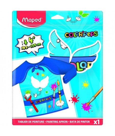 MAPED Tablier Color'Peps De 4 a 8 ans
