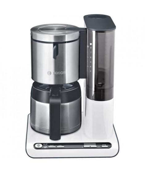 BOSCH TKA8651 Cafetiere filtre programmable avec verseuse isotherme Styline - Blanc