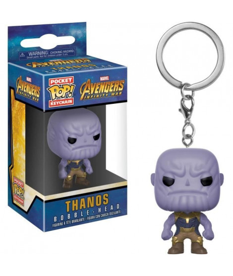 Porte-clé Funko Pocket Pop! Marvel - Avengers Infinity War: Thanos