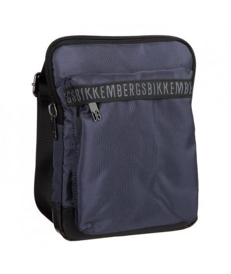 BIKKEMBERGS Sac d'épaule DB-TAPE D0605 Bleu Homme