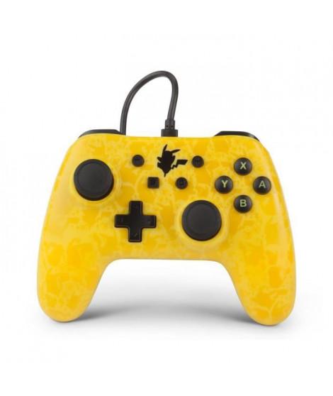 POWER A Manette filaire Pikachu Shado