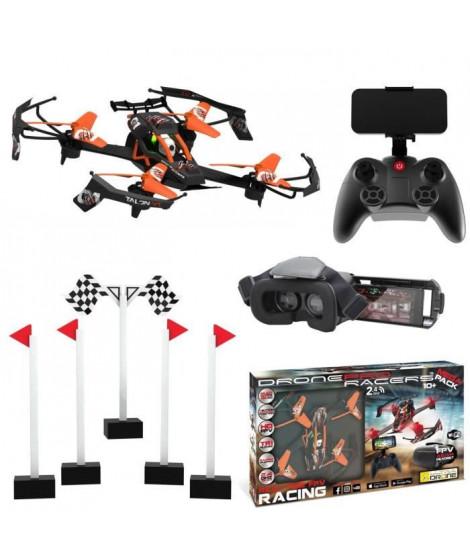 MONDO Ultradrone Pro Racer - Mega Pack Radio commandé - Orange - A partir de 10 ans - Mixte