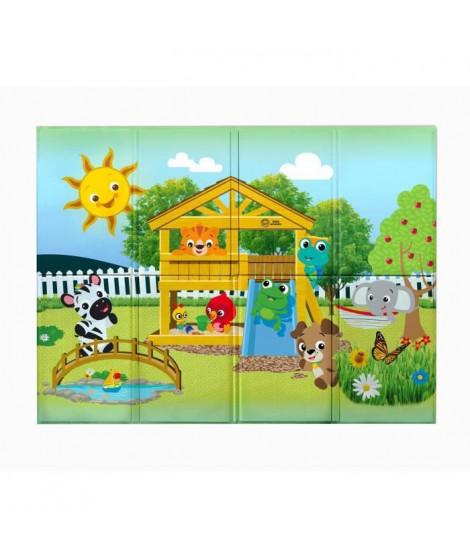 BABY EINSTEIN Tapis d'éveil enroulable Anytime Playground -119,38 x 88,9 cm - Multicolore