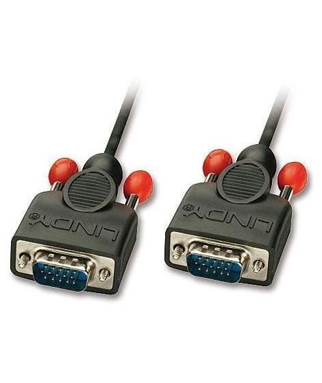 LINDY Câble VGA sans ferrites, mâle / mâle - 2m