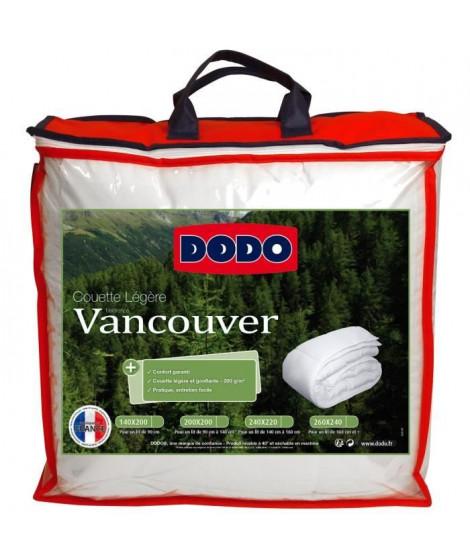 DODO Couette légere Vancouver - 200 x 200 cm - Blanc