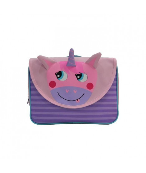 KIDS ANIMAUX Cartable Licorne - 32 cm - Rose