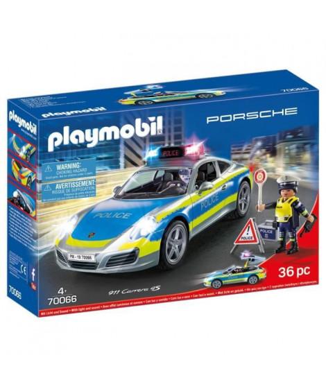 PLAYMOBIL 70066 - Porsche 911 Carrera 4S Police  - Nouveauté 2020