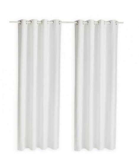 TODAY Paire de rideaux isolants thermiques - 140 x 240 cm - Chantilly
