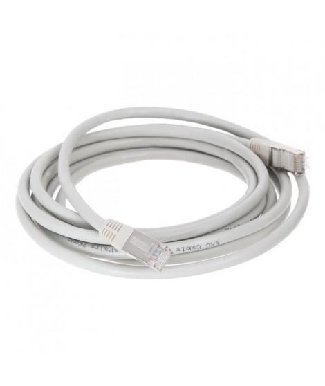CONTINENTAL EDISON Câble RJ45 cat.6 blindé FTP 3m