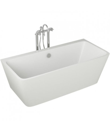 Baignoire - 170x75x58cm - Design blanc