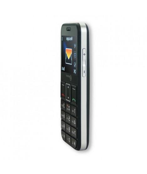 GEEMARC Téléphone mobile grosses touches sénior avec appareil photo CL 8360