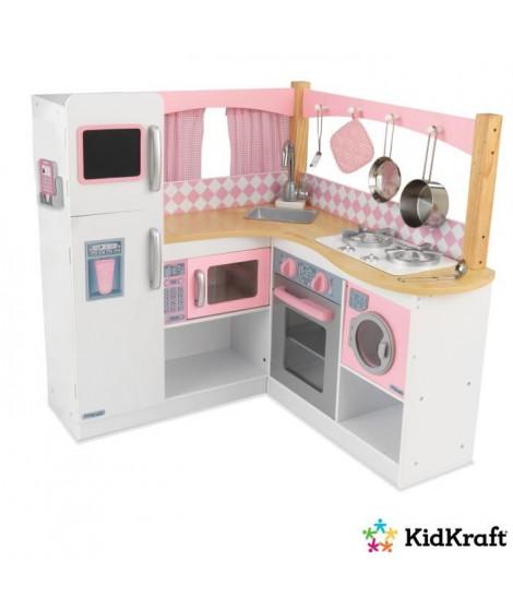 KIDKRAFT Cuisine enfant en bois Grand Gourmet Corner