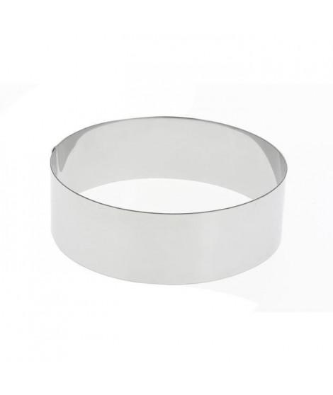 DE BUYER Cercle Collectivite - Ø 20 cm - Argenté