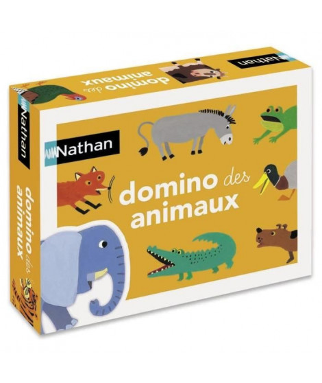 NATHAN - Le Domino Des Animaux