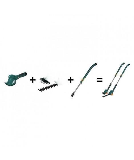MYTEK Coupe bordure et cisaille d'herbe électrique - Sans fil - 10,8 V - Avec batterie