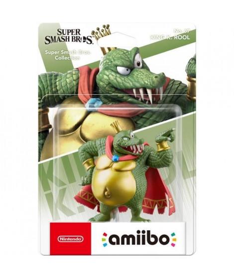 Figurine Amiibo N°67 King K. Rool Collection Super Smash Bros