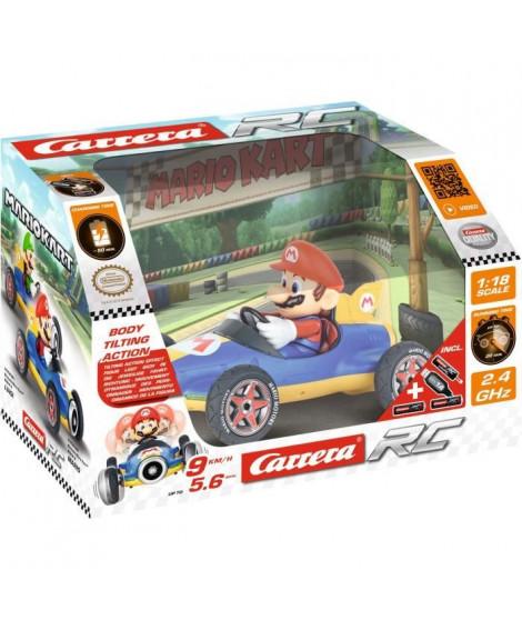 CARRERA - Mario Kart(TM) Mach 8 voiture télécommandée Mario