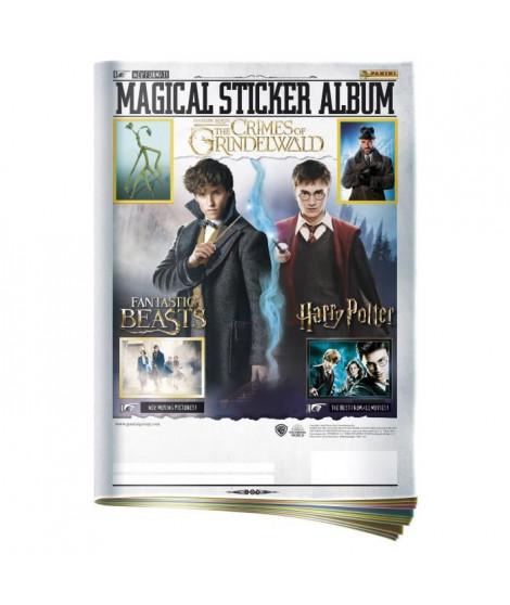 FANTASTIC BEATS OS Journal + 5 pochettes de stickers