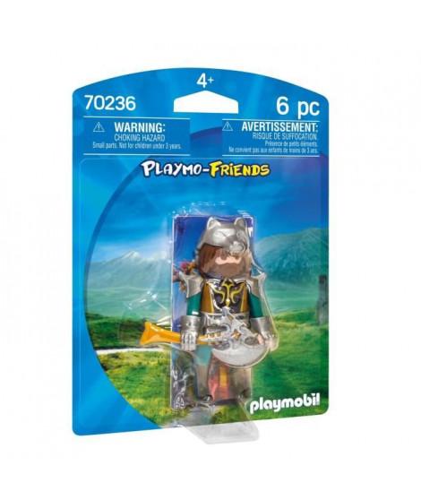 PLAYMOBIL 70236 - Knights - Playmobil Friends - Guerrier du Loup - Nouveauté 2020