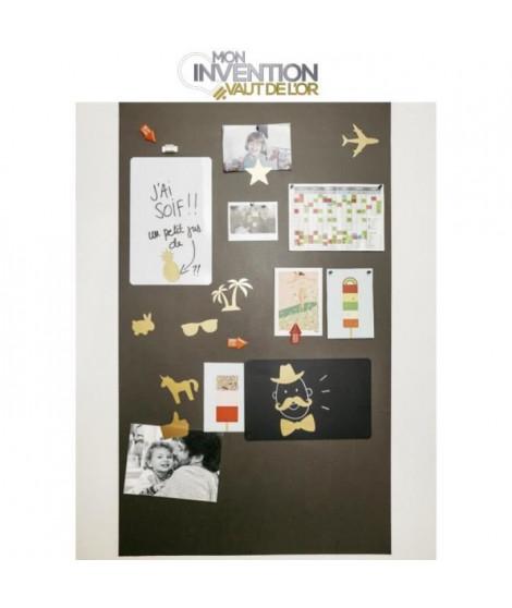 KIT FERFLEX - Papier peint magnétique 100x60 cm + accessoires