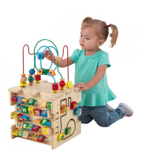 KIDKRAFT - Cube d'activités en bois Deluxe