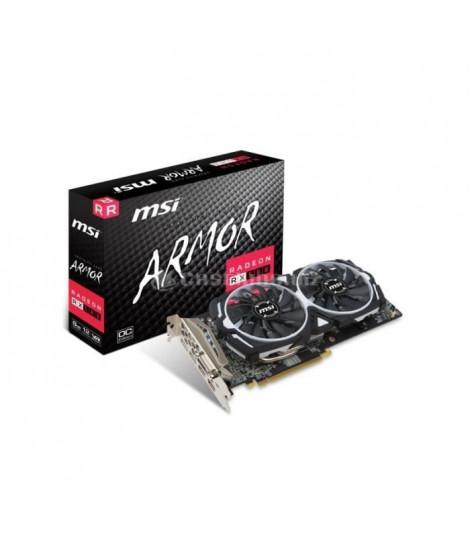 MSI Carte graphique Radeon RX 580 ARMOR 8G OC - 8 Go - GDDR5