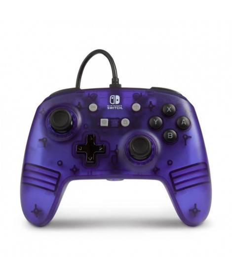 POWER A Manette Nintendo Switch Wired controller - Violet Frost