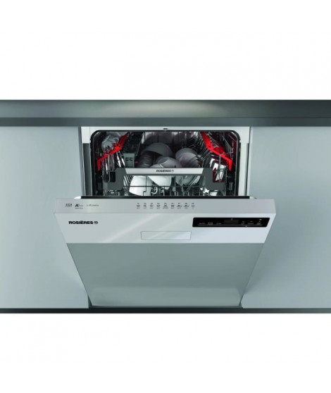 ROSIERES RDSN1D530PX - Lave-vaisselle encastrable - 15 couverts - 44 dB - A+ - L60 cm - Inox