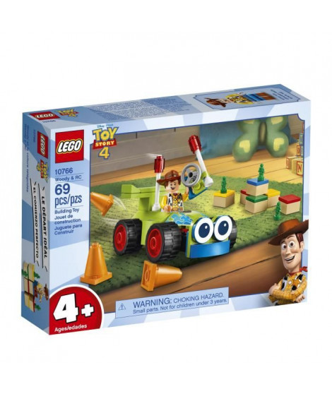 LEGO 4+ TOY STORY™ 10766 Woody et RC - Disney - Pixar