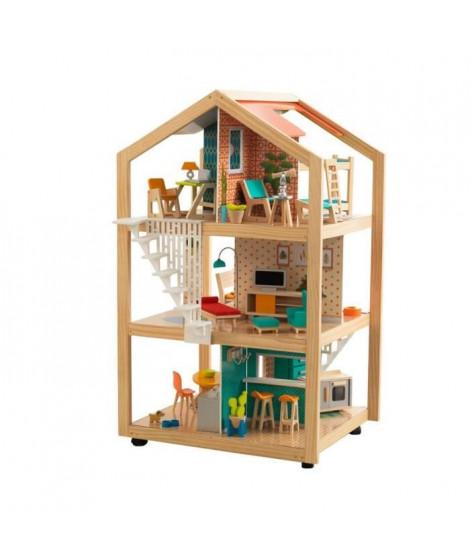 KIDKRAFT Maison de poupée Ultra chic en Bois - avec EZ Kraft Assembly™