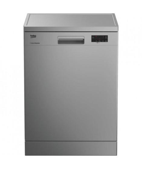 BEKO LAP65S2 - Lave vaisselle posable - 15 couverts - 45 dB - A++ - Larg 59,8 cm - Silver - Moteur induction ProSmart Inverter