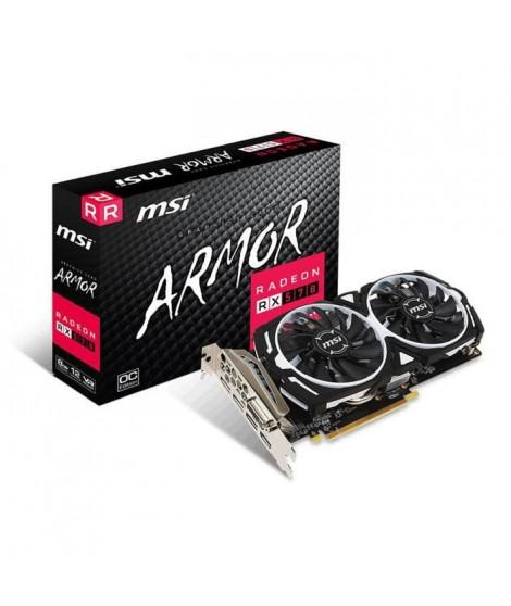MSI Carte graphique Radeon RX 570 ARMOR 8G OC